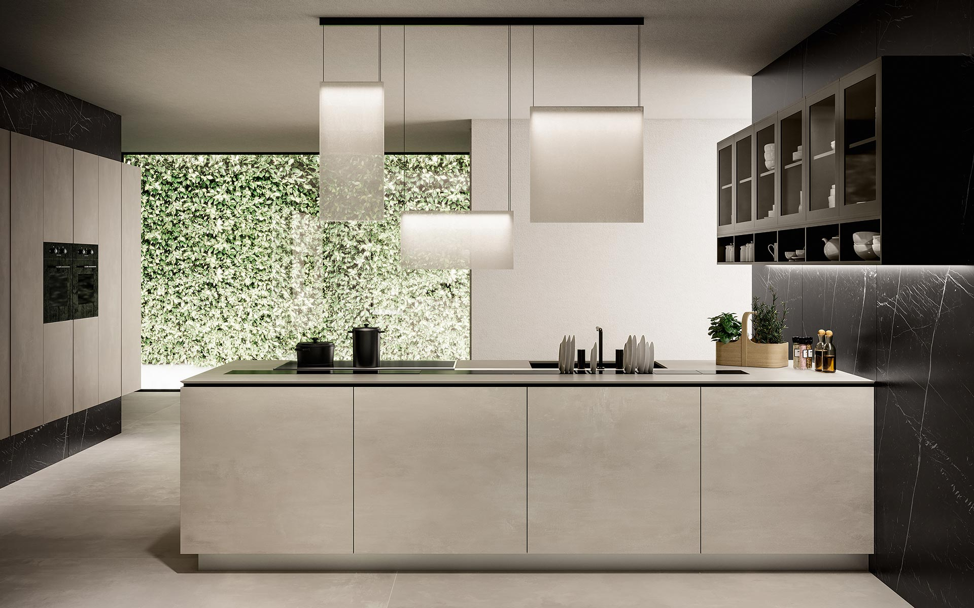 concrete-look-ceramic-tiles-wall-cladding