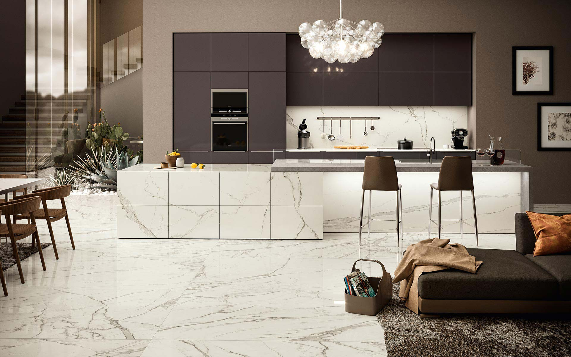 marble-effect-tiles-for-kitchen-top-table