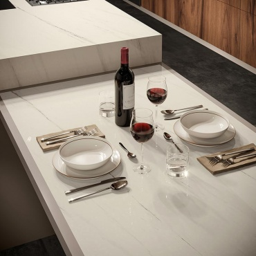 white-marble-look-porcelain-stoneware-tiles-for-table-top-finish