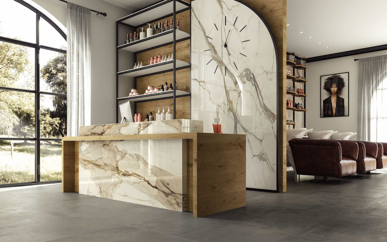 marble-look-porcelain-stoneware-tiles-for-countertop-finish-calacatta-imperiale